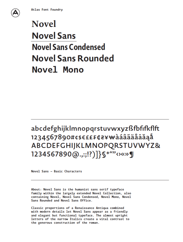 AtlasFontFoundry_NovelSans_PDF_Icon