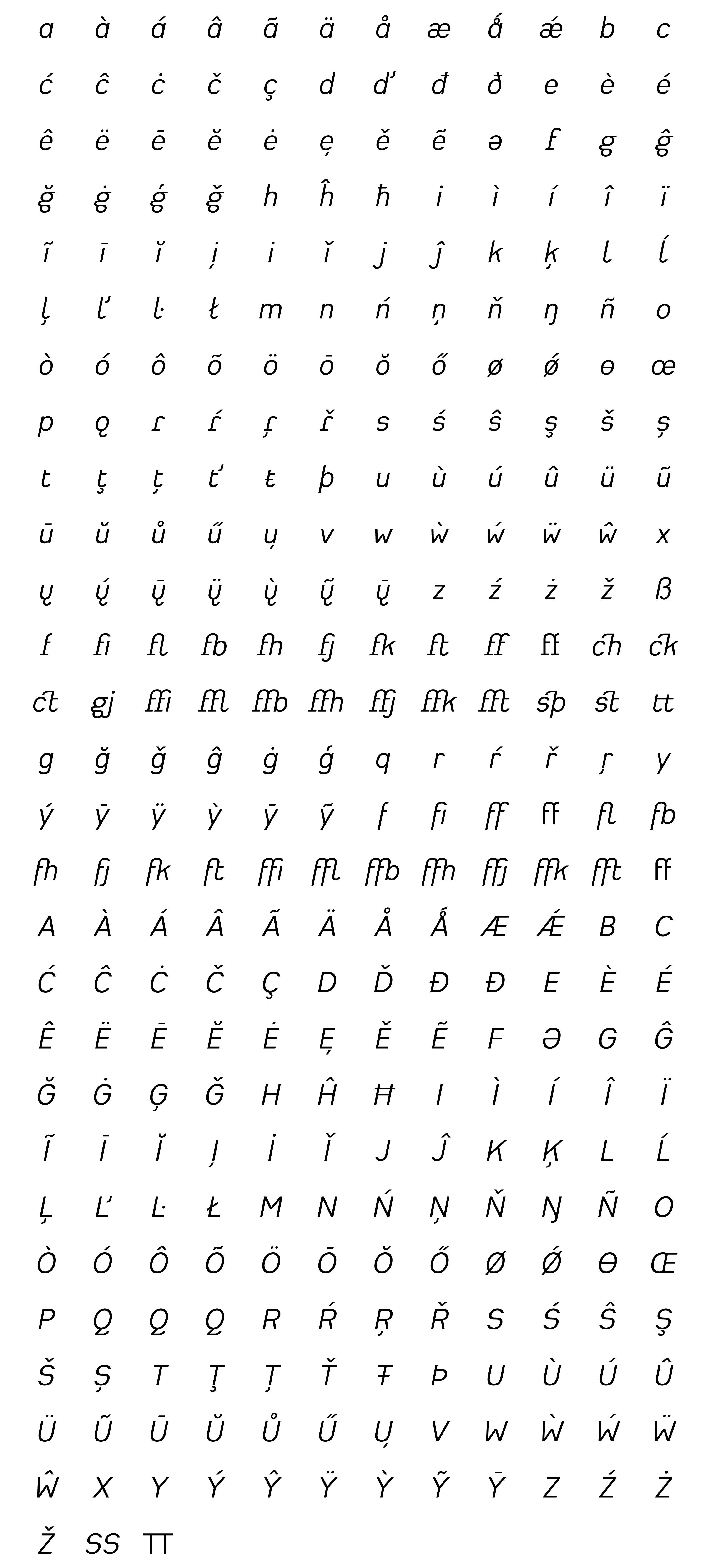 Typeface Heimat Grotesk E04 Atlas Font Foundry