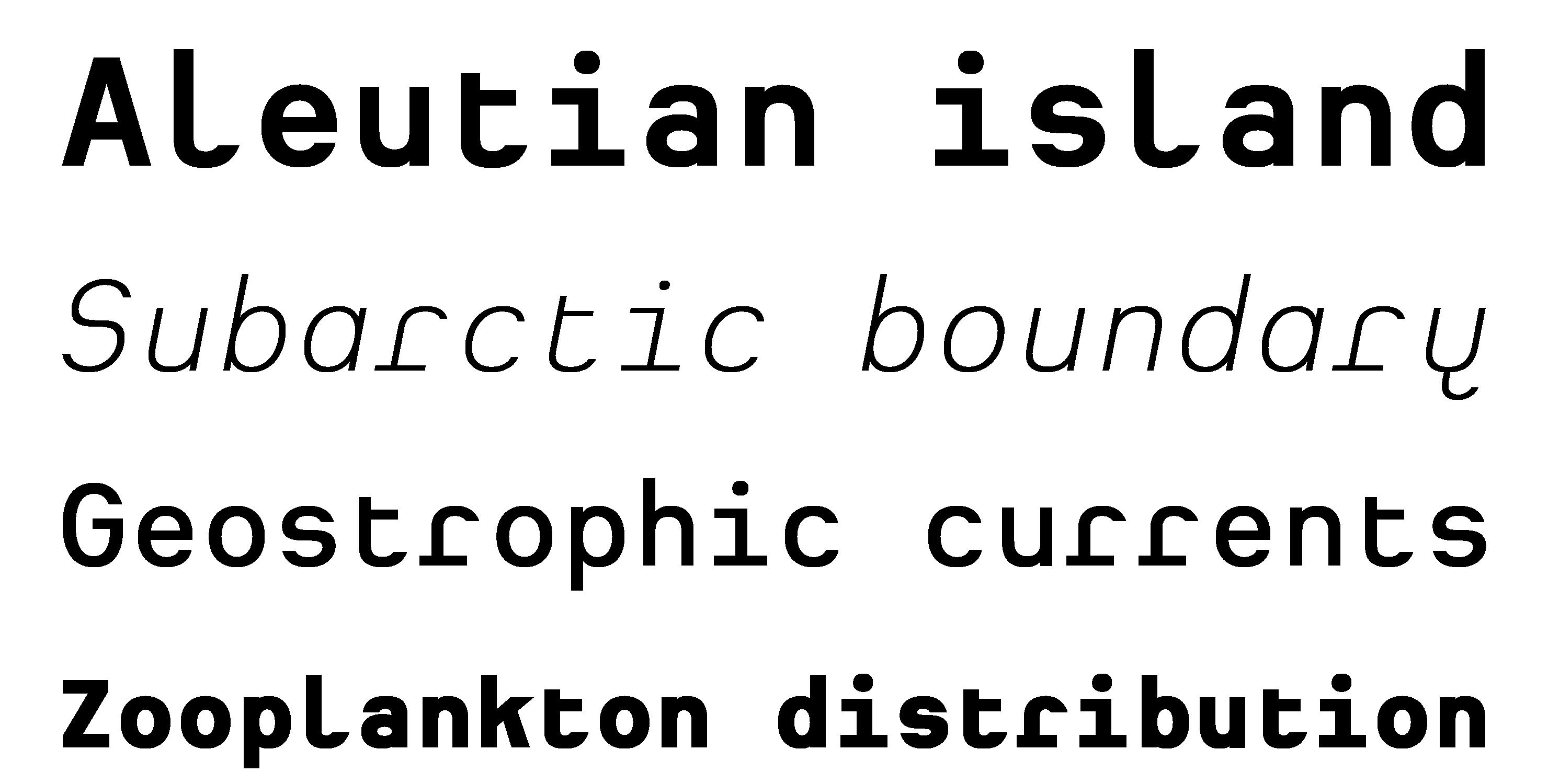 Typeface Heimat Mono A04 Atlas Font Foundry