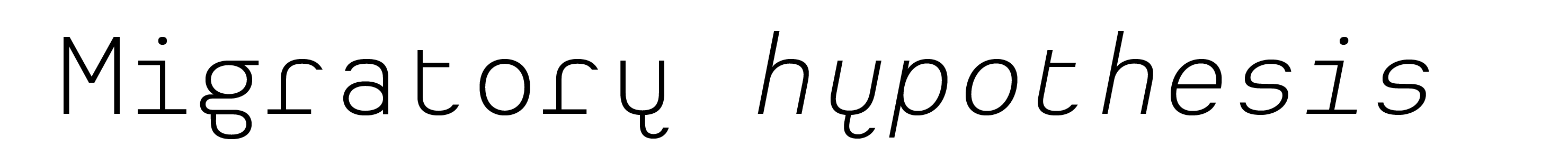 Typeface Heimat Mono D02 Atlas Font Foundry