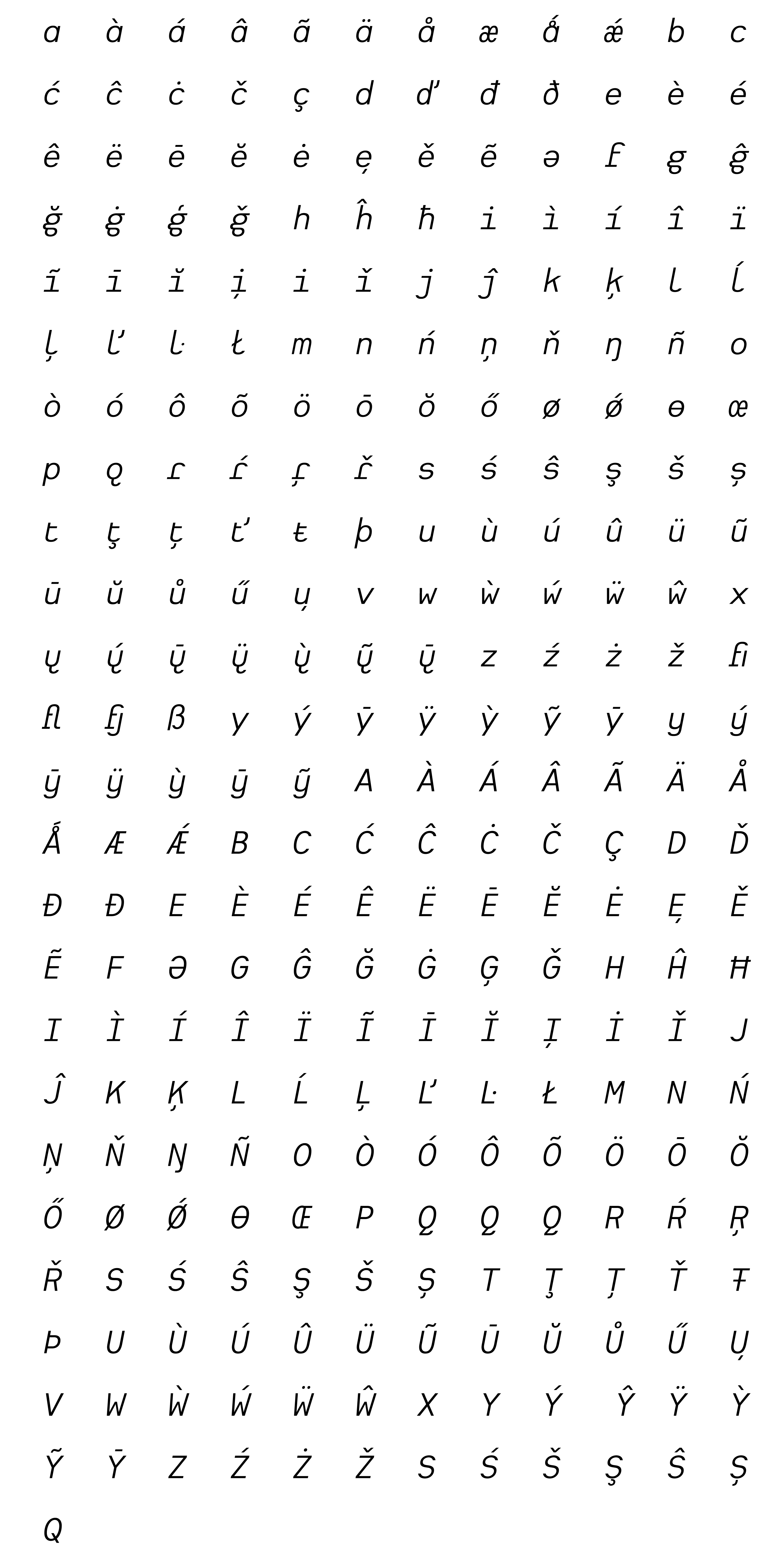 Typeface Heimat Mono E04 Atlas Font Foundry