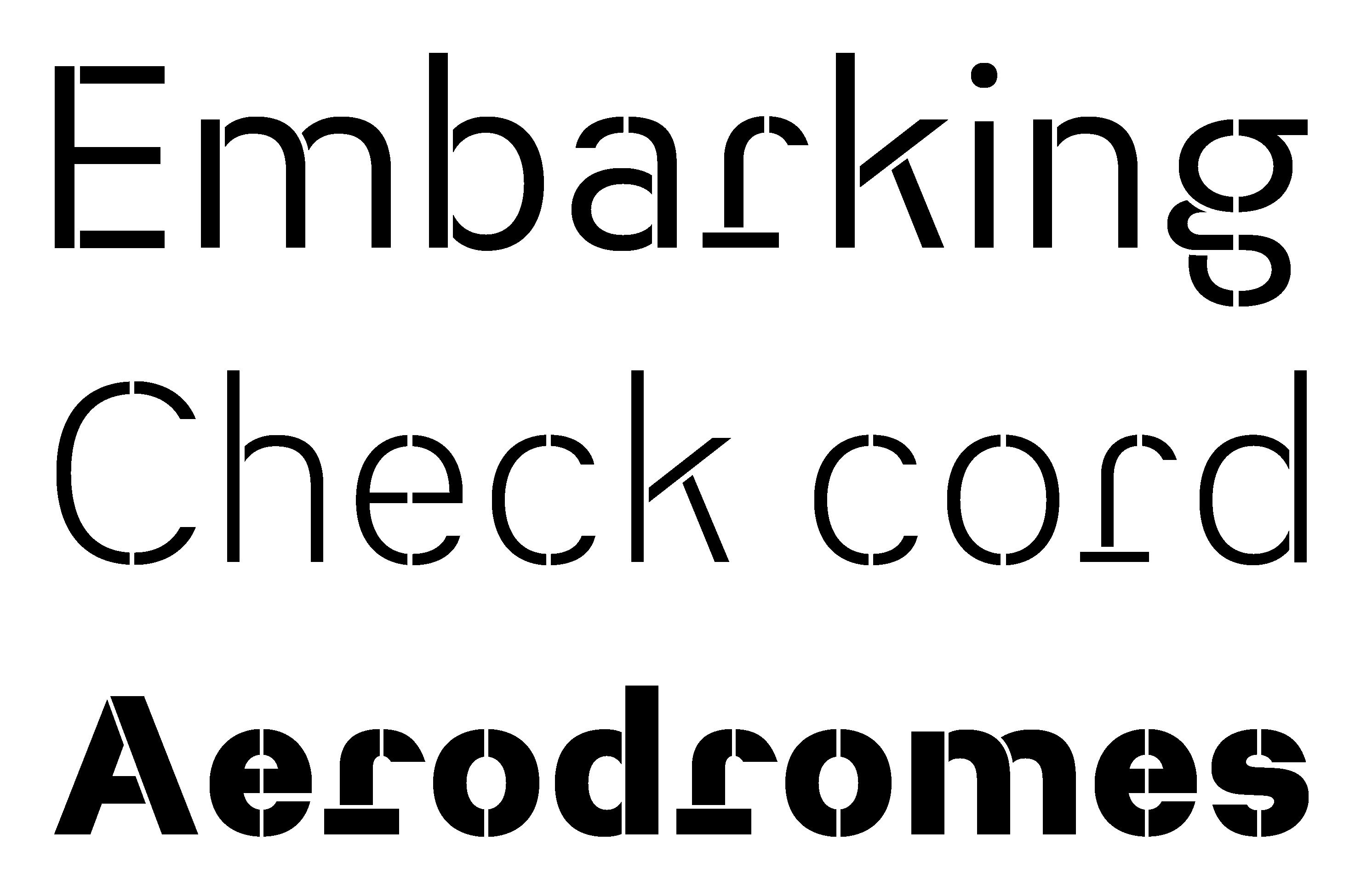 Typeface Heimat Stencil A02 Atlas Font Foundry