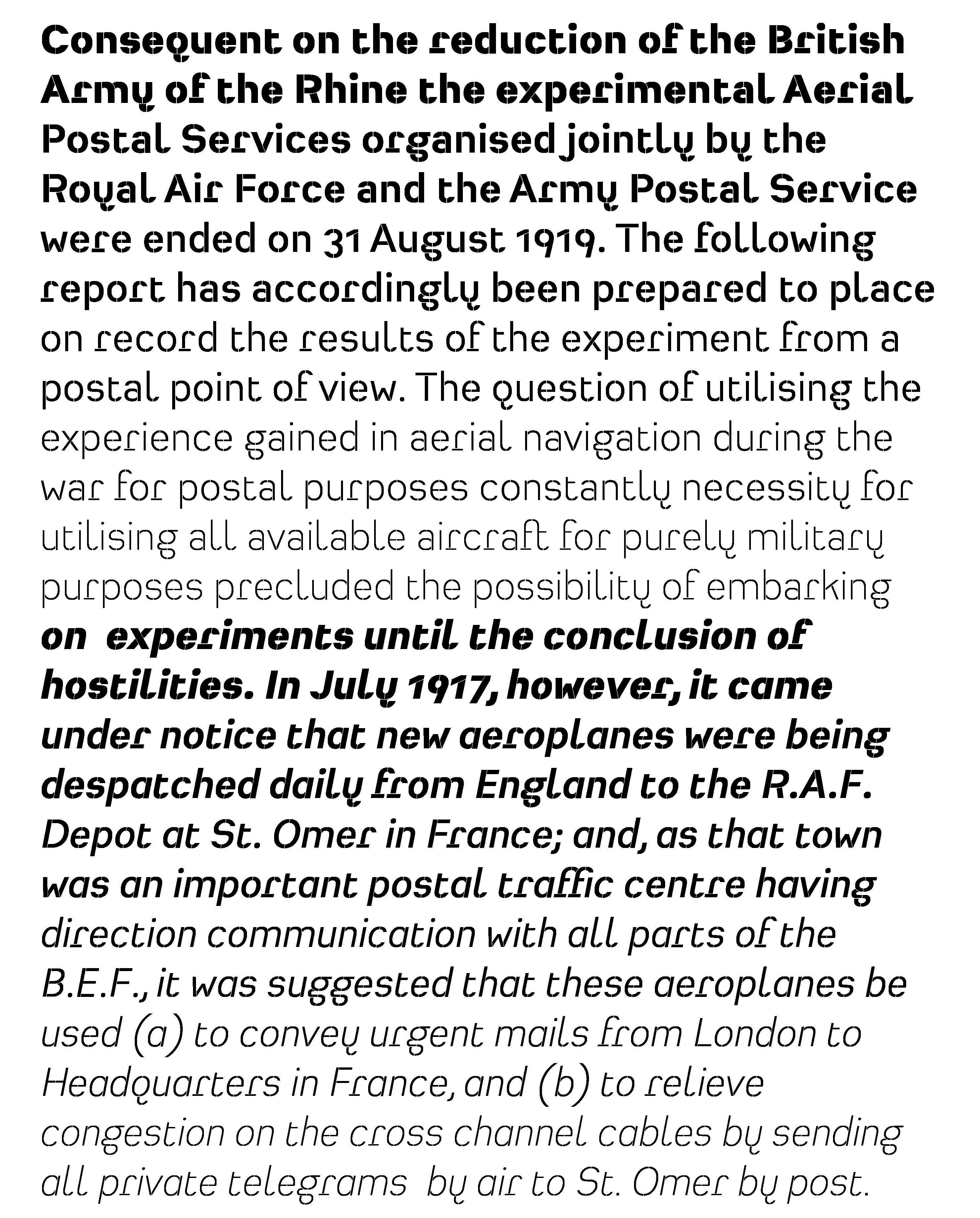 Typeface Heimat Stencil B01 Atlas Font Foundry