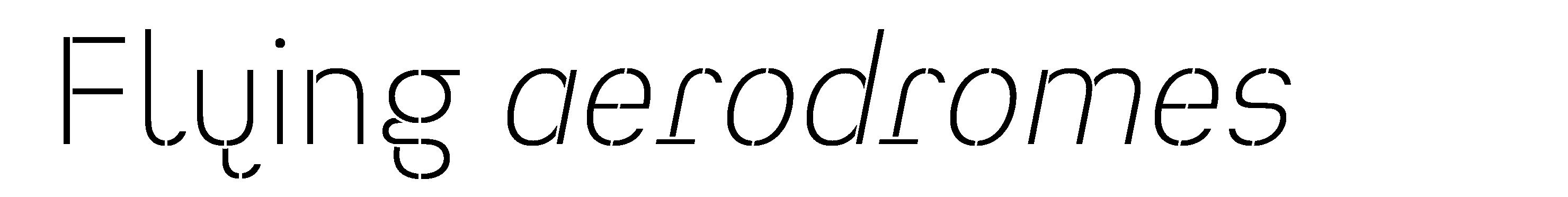 Typeface Heimat Stencil D01 Atlas Font Foundry