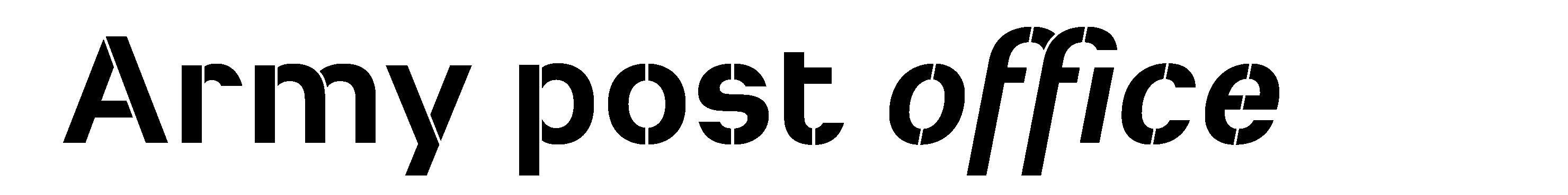 Typeface Heimat Stencil D011 Atlas Font Foundry