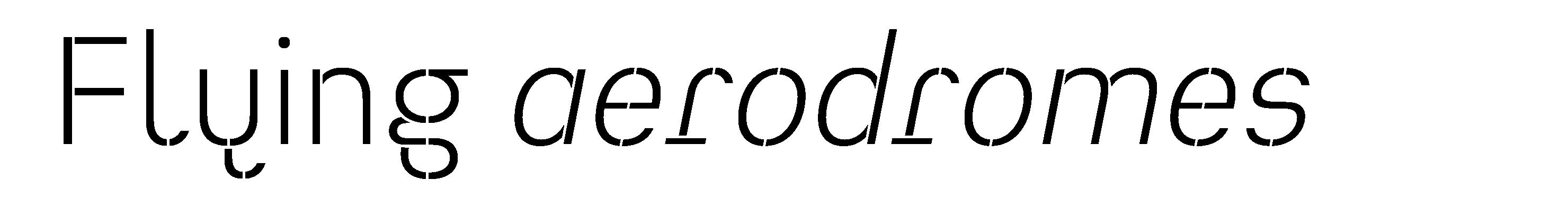 Typeface Heimat Stencil D02 Atlas Font Foundry