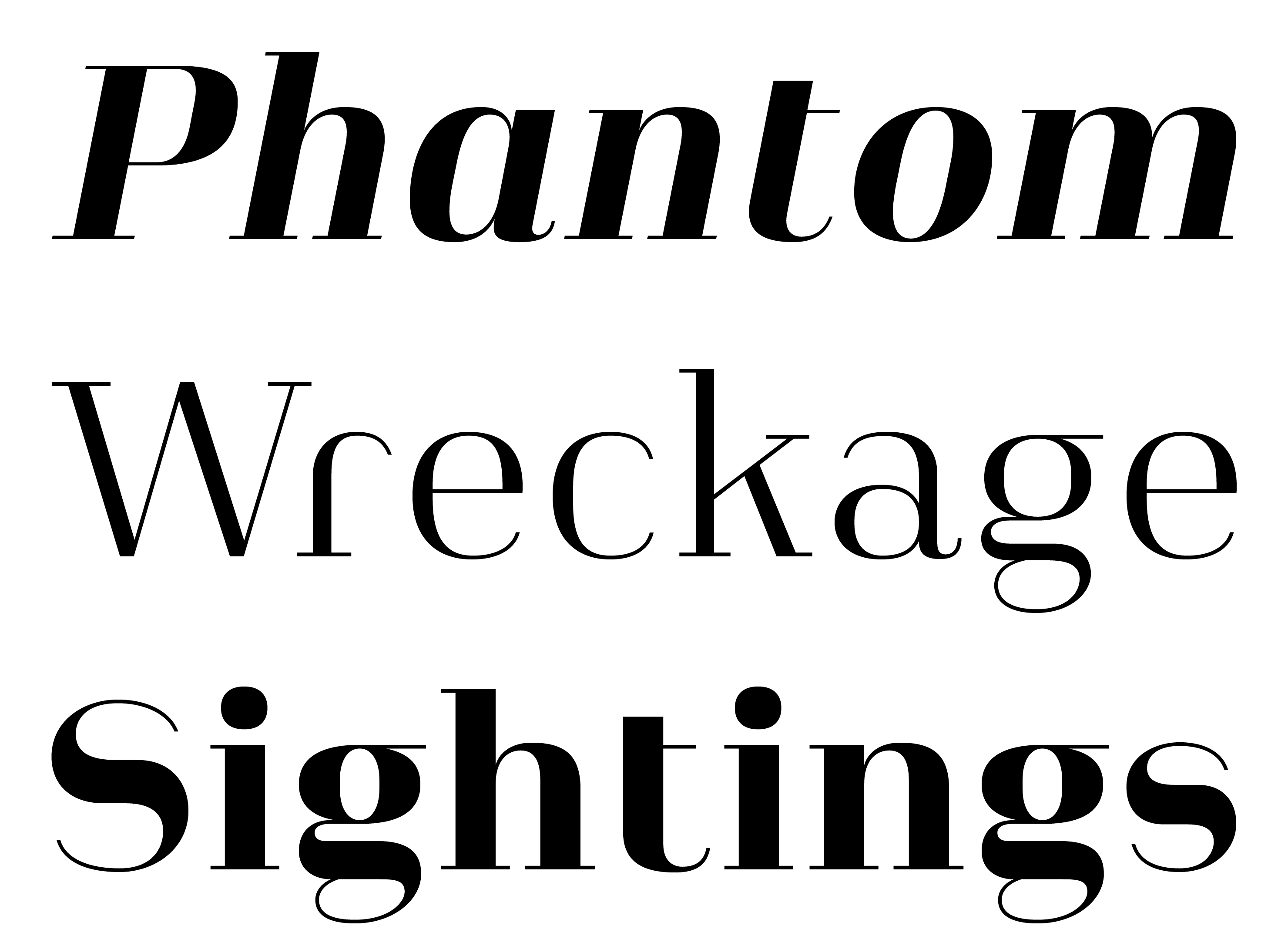 Typeface Heimat Didone A02 Atlas Font Foundry